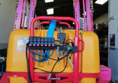 Pulverizador de ocasión barras de 18 y 15 mts para coberturas